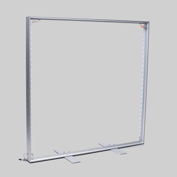 ASSEMBLED FREE STANDING LED FABRIC LIGHT BOX