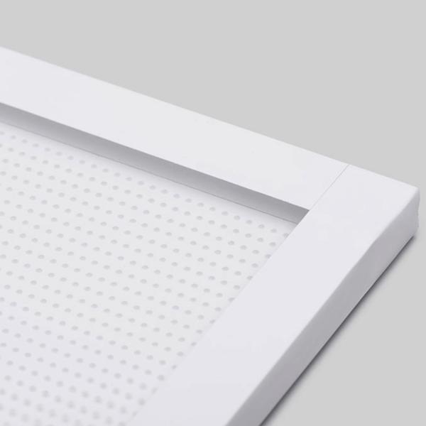 Corner of an Acrylic LED Light Panel