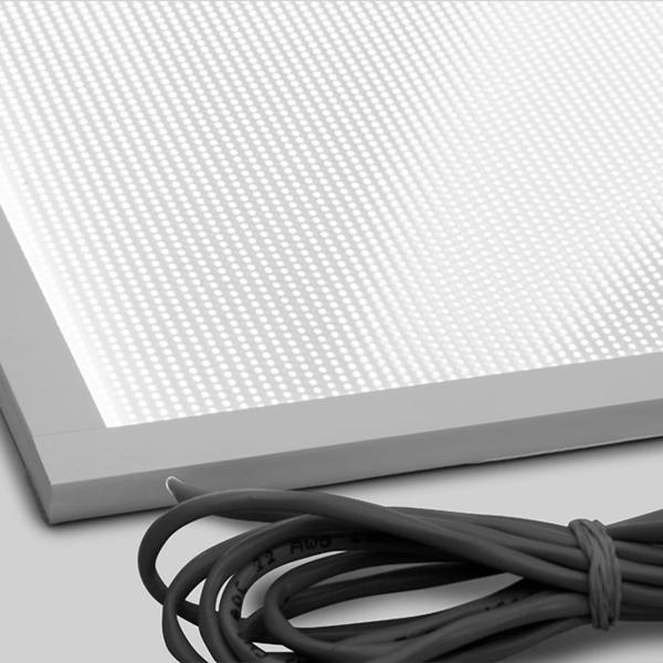 Custom Wire on an Acrylic LED Light Panel