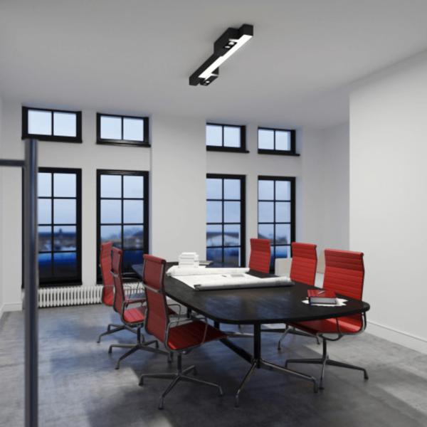 Metroffice linear light fixture6
