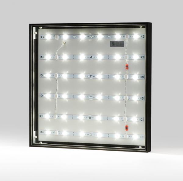 SLIM LED FABRIC LIGHT BOX 2″ PROFILE