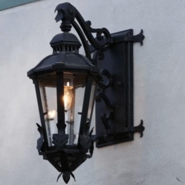 iron forged lantern Noria 1